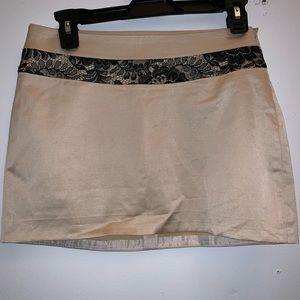 BEBE Micro Mini skirt